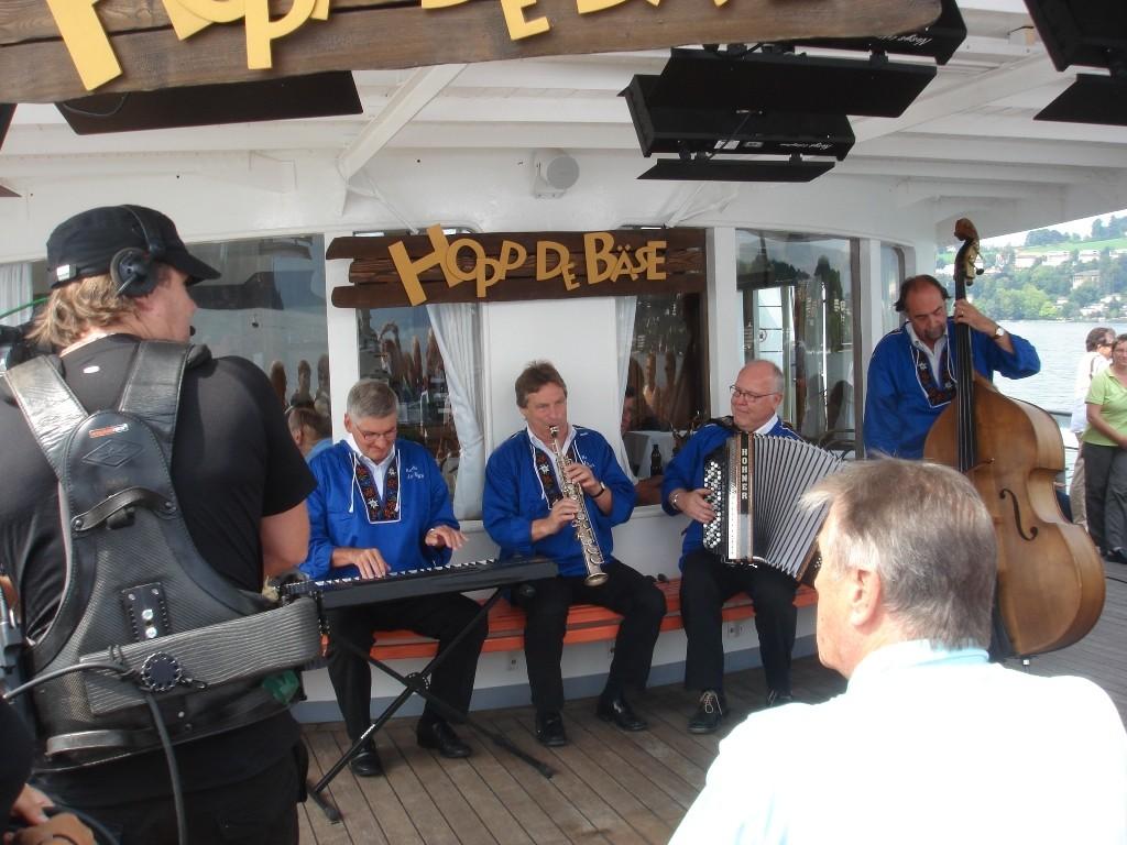 Fernsehsendung Hopp de Bäse auf Dampfschif